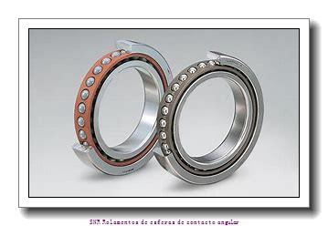 35 mm x 72 mm x 27 mm  SIGMA 3207 Rolamentos de esferas de contacto angular