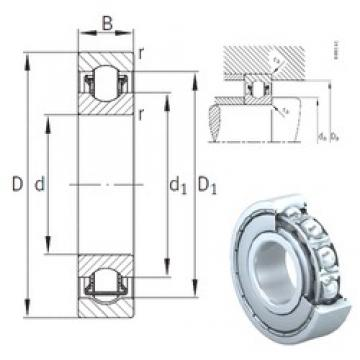 35 mm x 80 mm x 21 mm  INA BXRE307-2Z Rolamentos de agulha