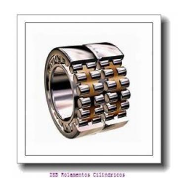 110 mm x 200 mm x 38 mm  NKE NJ222-E-MA6+HJ222-E Rolamentos cilíndricos