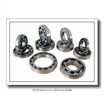 4,762 mm x 9,525 mm x 3,175 mm  FBJ FR166 Rolamentos de esferas profundas