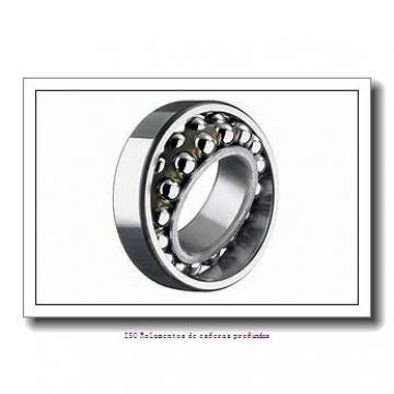 6,35 mm x 19,05 mm x 5,558 mm  FBJ R4A Rolamentos de esferas profundas