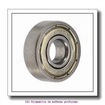 30 mm x 47 mm x 9 mm  FBJ 6906 Rolamentos de esferas profundas