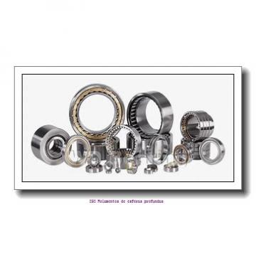 6,35 mm x 9,525 mm x 3,175 mm  FBJ R168 Rolamentos de esferas profundas
