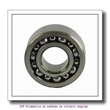 19.05 mm x 50,8 mm x 17,46 mm  SIGMA MJT 3/4 Rolamentos de esferas de contacto angular