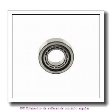 22,225 mm x 50,8 mm x 14,29 mm  SIGMA LJT 7/8 Rolamentos de esferas de contacto angular