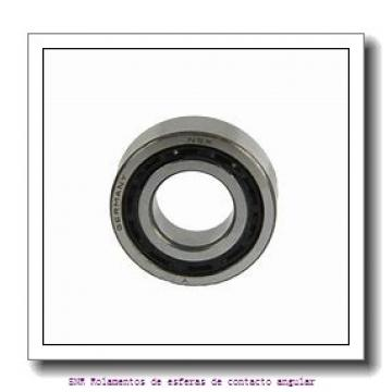 40 mm x 80 mm x 18 mm  SIGMA QJ 208 Rolamentos de esferas de contacto angular