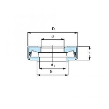 SKF BFSB 353321/HA3 Rolamentos axiais de rolos cônicos