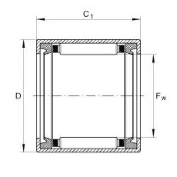 INA SCE57-PP Rolamentos de agulha