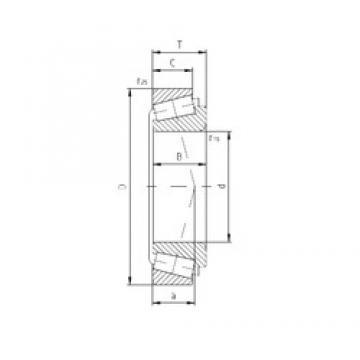 70 mm x 110 mm x 21,5 mm  ZVL PLC67-6 Rolamentos de rolos gravados