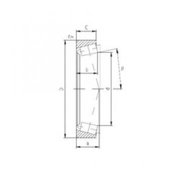 ZVL I-90921 Rolamentos de rolos gravados