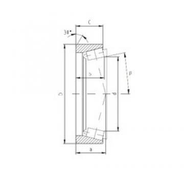 ZVL PLC64-3 Rolamentos de rolos gravados