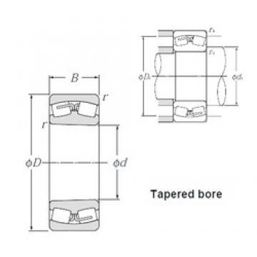 420 mm x 760 mm x 272 mm  NTN 23284BK Rolamentos esféricos de rolamentos